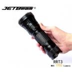 Оригинал JETBEAM RRT3 Cree XM-L T6 LED 1950 люмен фонарик ежедневно факел Совместим с 3*18650 аккумулятор для себя обороны