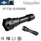 UniqueFire ИК 850nm Факел 3 Режима  T20 Масштабируемые Фонарик Для 1x18650 Аккумуляторная Батарея