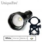 UniqueFire 1505 МКФ Фонарик Cree XML T6 Масштабируемые СВЕТОДИОДНЫЙ Фонарик Torche Для 1*18650 Батареи (Черный)   Артиллерийская установка