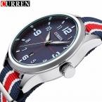 Curren популярный бренд часы мужские свободного покроя нейлоновая ткань мужской часы мужские спортивные военные кварц - часы мужчины часы Relojes хомбре