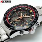 Montre Homme  Мужские Часы Лучший Бренд Класса Люкс Аналоговый Дисплей Часы Из Нержавеющей Стали Мужчины Кварцевые Часы Curren Часы Цена 8149