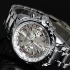 лучший бренд класса люкс мужские часы мужчины наручные часы из нержавеющей стали бизнес часы Reloj хомбре время время мужчины