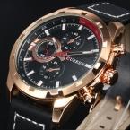CURREN Кварцевые Часы Мужские Часы Лучший Бренд Класса Люкс Известный Наручные Часы Мужской Часы Наручные Часы Световой часы Relogio Masculino