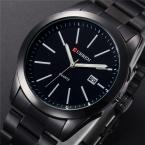 Relogios masculinos CURREN люксовый бренд полный нержавеющей стали аналоговые отображение даты мужские кварцевые часы бизнес часы мужчины часы