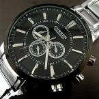 Curren relogios masculinos  Люксовый Бренд Часы Моды для Мужчин Кварцевые Часы Деловой случай Наручные Часы Полная Сталь Мужчины Смотреть