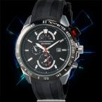 Curren мода дате черный каучуковый ремешок Relogio мужской мужчины наручные часы кварцевые часы спорт военные часы спортивные