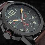 Curren Оригинальные  новые часы мужчины военные часы модного бизнеса часы человек кожаный ремешок повседневная Наручные Часы relogio