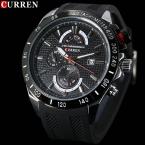 лучших люксовый бренд мужской спортивные военные часы мужские кварцевые аналоговые час дата часы мода свободного покроя каучуковый ремешок наручные часы