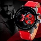 10 Цветов  мужской Моды Часы Роскошные Кварцевые Часы Мужчины Водонепроницаемый Армии Военные Часы Relógio Masculino