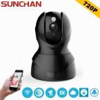 SUNCHAN HD 720 P Беспроводная Ip-камера Wi-Fi Onvif Видеонаблюдения CCTV Безопасности Сети WI-FI Главная Защита Камеры Массив LED