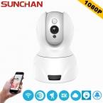 SUNCHAN HD Ip-камера WI-FI 1080 P Дома Камеры Видеонаблюдения Onvif P2P Phone Remote 2-МЕГАПИКСЕЛЬНАЯ Беспроводная Камера Видеонаблюдения