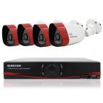 SUNCHAN 4CH NVR Открытый 720 P HD Ip-сети PoE 1280*720 Главная Безопасность Камеры Системы Открытый Водонепроницаемый Видеонаблюдения DVR Комплекты