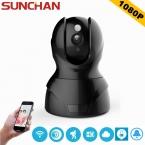 SUNCHAN Full HD Ip-камера Беспроводной Wi-Fi Камеры Наблюдения Камеры 1080 P Ночного Видения Камеры ВИДЕОНАБЛЮДЕНИЯ Baby Monitor Бесплатная Доставка