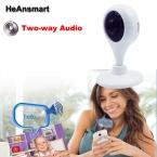 HD Mini Монитор Ребенка Видео Wi-Fi Удаленной Камеры Просмотра с Мобильного телефон Аудио и Видео Показать Смарт Камеры Видеонаблюдения для Ребенка