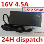 16 В 4.5A 72 Вт Универсальный Адаптер ПЕРЕМЕННОГО Зарядное Устройство для IBM THINKPAD T43 A31 X31 R40 T21 T41 T42 Ноутбук Бесплатно доставка