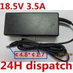 Оригинальное качество 18.5 В 3.5A 4.8*1.7 MM 65 Вт Замена Зарядное Устройство Для HP 425 510 520 530 540 550 620 625 G3000 Ноутбука Адаптер Питания