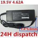 19.5 В 4.62A 90 Вт 7.4*5.0 Replacment Ноутбук AC Адаптер Питания Зарядное Устройство для Dell PA-10 НАДФ-90KB, PA-1900-02D (05D2), PA-12