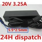 ДЛЯ LENOVO 20 V 3.25A ДЛЯ IdeaPad U300, U300e, U310, U400, U410 Z470, Z570, Z575 V470, V570