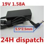 НОВЫЙ and Оригинальное качество Зарядное Устройство Блок Питания для Ноутбука AC Адаптер Питания Для TOSHIBA 19 19в 1.58A 5.5*2.5 ММ, Brand New and