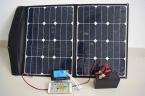 60 Вт солнечной системы высокая эффективность гибких и солнечное зарядное устройство с контроллером