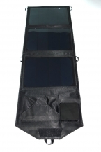 12 Вт Открытый Панели Солнечных Батарей USB Зарядное Устройство 3 шт. Клетки Аккумуляторная Складной Мешок с USB Кемпинг Туристические Рюкзаки Солнечные Панели