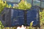 7 Вт высокая эффективность складной солнечное зарядное устройство wth USB разъем складной мобильный телефон зарядное устройство