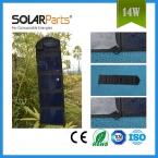 14 Вт высокая эффективность складной солнечное зарядное устройство мобильный телефон зарядное устройство Аккумуляторная Складной Мешок с USB