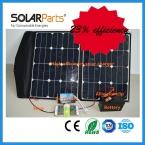 100 Вт высокая эффективность складная панели солнечных батарей ноутбук используется для зарядки аккумулятора