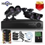 4CH CCTV Система КОМПЛЕКТ HD 1200TVL = 720 P 1 ТБ HDD ИК Пуля Открытый Камеры Видеонаблюдения Системы Безопасности HDMI VGA