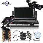 4CH HD 1200TVL = 720 P 1500TVL = 960 P 7 дюймов Displayer КОМПЛЕКТ ВИДЕОНАБЛЮДЕНИЯ Система Пуля ИК Наружного Наблюдения камеры Системы Безопасности HDMI VGA