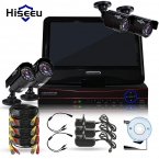 4CH HD 1200TVL = 720 P 1500TVL = 960 P 10 дюйма Displayer КОМПЛЕКТ ВИДЕОНАБЛЮДЕНИЯ Система Пуля ИК Наружного Наблюдения камеры Системы Безопасности HDMI VGA