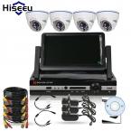 4CH CCTV System1200TVL = 720 P 1500TVL = 960 P DVR HDMI ИК крытый Купол Камеры ВИДЕОНАБЛЮДЕНИЯ Системы Домашней Безопасности Surveillance Kit