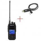 DMR Радио Retevis RT3 Цифровой Портативной Рации VHF136-174MHz 5 Вт 1000CH Радиолюбителей Кв Трансивер VOX Сигнализация Двухстороннее Радио A9110AV
