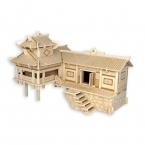 Детей Игрушки 3d Головоломки Деревянные Игрушки Для Детей Приостановлено Создание Лучших Монтессори Educationaly Diy Игрушки В Качестве Подарка Для дети