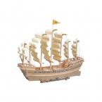 3D Деревянные головоломки детские игрушки Галеон, чтобы помочь расширить образовательные игрушки интеллекта культивировать детского творчества на протяжении более 6 лет
