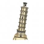 Детские Игрушки 3d Деревянные Головоломки детский Модель Пизанская Пизанская башня Знаменитое Здание Серии Лучший Подарок Для Детей
