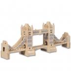 Игрушки Для Детей, 3d Головоломка Diy Деревянная Головоломка Тауэрский Мост В Игрушки для детей, Также Подходит Для Взрослых Игра Подарок Из Высококачественного Дерева