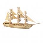 3D головоломки Малыш игрушки парусная лодка, чтобы помочь расширить образовательные игрушки интеллекта культивировать детского творчества на протяжении более 6 лет