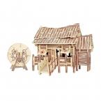 Подлинная Детские Игрушки 3d Деревянные Головоломки Diy Регистрации Номер Хороший Подарок Качество Материала Для Детей