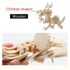 3D Деревянные Головоломки Деревянные Игрушки Dinosau Животных Модель Ассамблеи Модель Деревянные Головоломки Игрушки для Обучения Развивающие Игры для Детей и Взрослых JP001