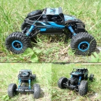 Прибытие 1/18 2.4 Г 4WD Rock Crawler RC Автомобиль с Дистанционным Управлением Радио Управления RC Игрушечных Автомобилей Подарок FCI #