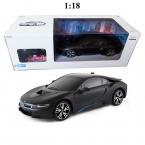 1:18 Радиоуправляемых Лицензированных Автомобилей Rastar RC Автомобилей Электрическая Машина на пульте Дистанционного Управления Мальчиков Игрушки Подарки Детям Зажгли Фары 59200