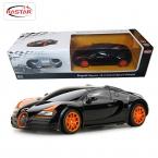 новых лицензионных Rastar 1:24 мини мини-автомобили электрические 4CH радиоуправляемые игрушки радиоуправляемых Bugatti гранд спорт витесс 47000