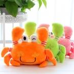 Случайный Цвет Краб Плюшевые Игрушки Мягкие Чучела Животных Кукла с Ребенком и Детей Kawaii Коробки Чучела Brinquedos Дети Подарки На День Рождения