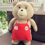 45 СМ Teddy Bear Теда 2 Плюшевые Игрушки 46 СМ Мягкие Чучела животные Тед Медведь Плюшевые Куклы для детей День Рождения Рисунок Детские Игрушки Для дети