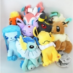 7.87 ''20 см Аниме Пикачу Eevee Плюшевые Игрушки Мягкие Игрушки Куклы Для Детей Birtyday Подарок