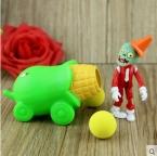 PVZ Растения против Зомби Игрушечное Ружье ПВХ Фигурку Модель Игрушки Подарки Игрушки Для Детей Высокого Качества Brinquedos, в Мешок OPP