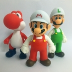 3 шт./лот Super Mario Bros Луиджи Марио Фигурку ПВХ Супер марио Рисунок Модель Кукла 13 см Рисунок Игрушки Для Детей/малыш