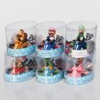 Super Mario Bros Картинг Автомобиль Игрушки Super Mario Рис Игрушки Мультфильм Детские Игрушки 7 стилей