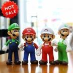 Супер марио цифры игрушки 9 '' пвх мультфильм супер марио фигурку куклы для сбора детские игрушки рождественский подарок